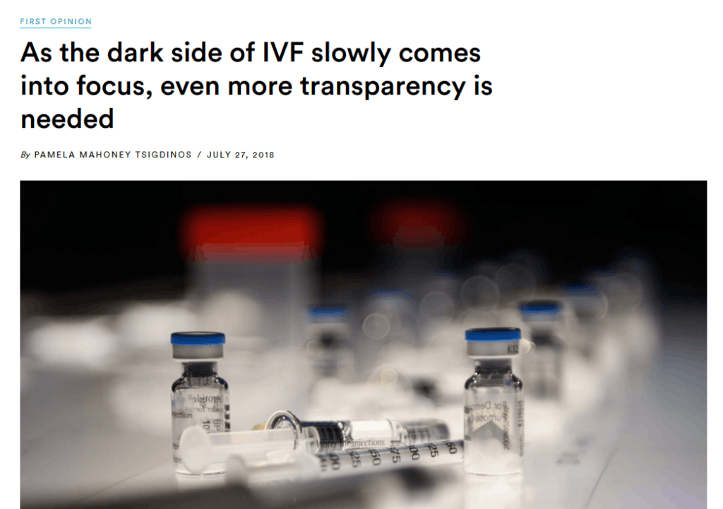 Dark Side of IVF